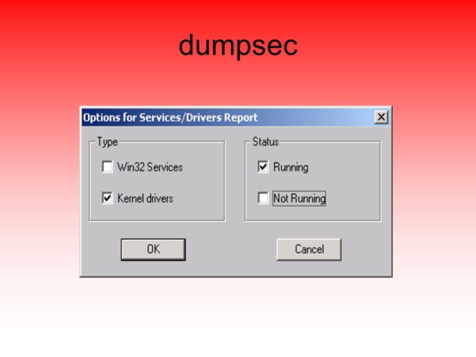 dumpsec