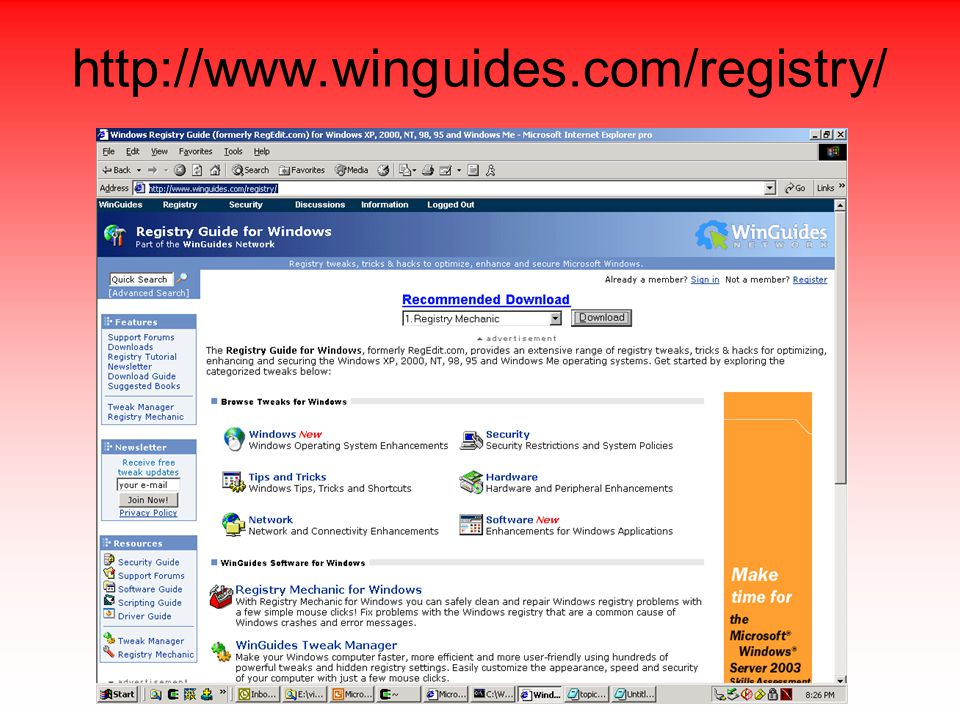 http://www.winguides.com/registry/