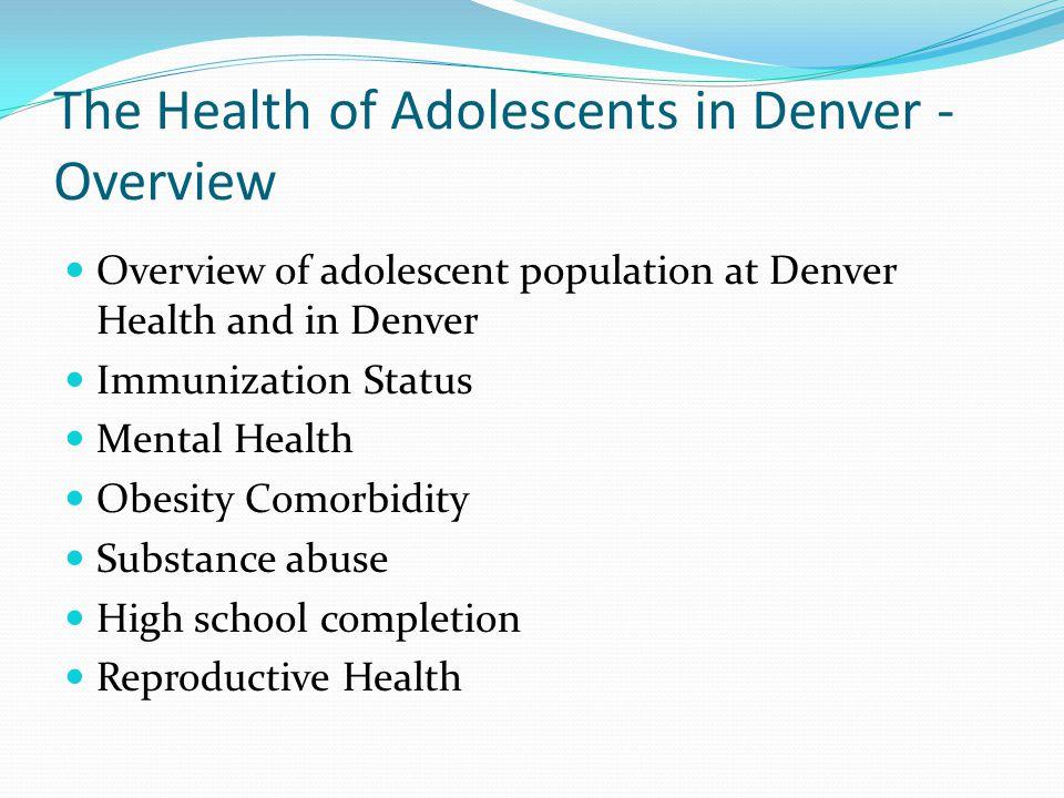 Youth in Denver - 2010