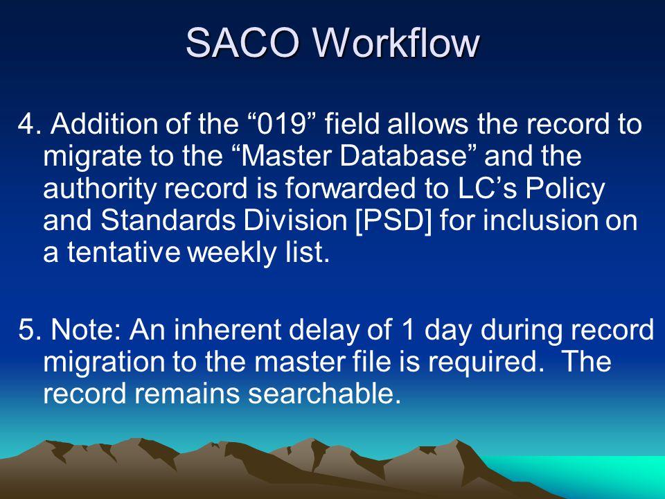 SACO Workflow 4.