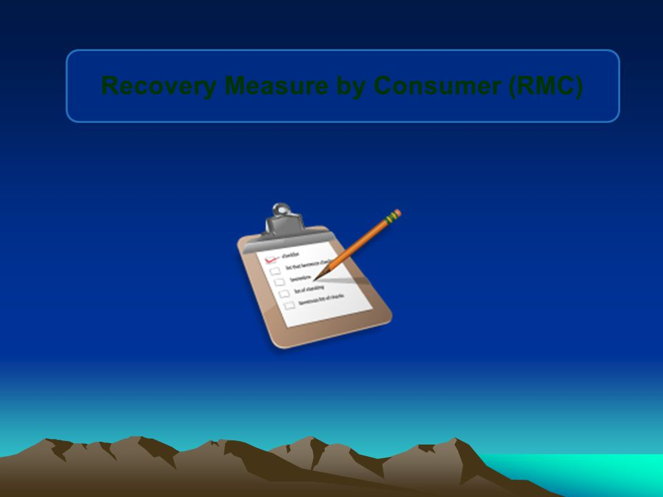 Recovery Measure by Consumer (RMC)