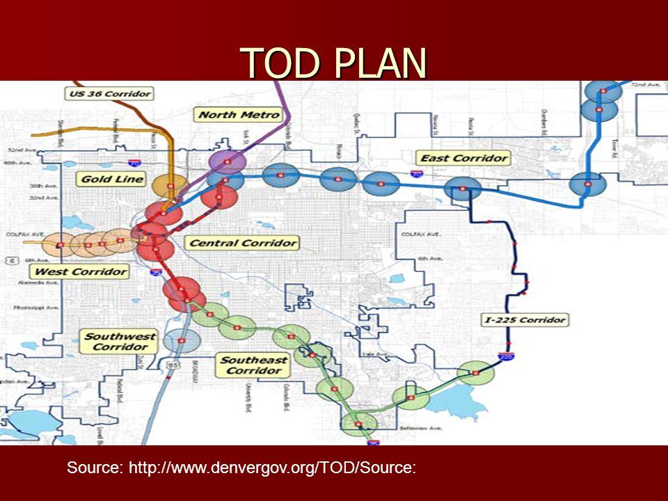 TOD PLAN Source: http://www.denvergov.org/TOD/Source: