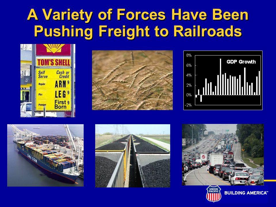 A Variety of Forces Have Been Pushing Freight to Railroads