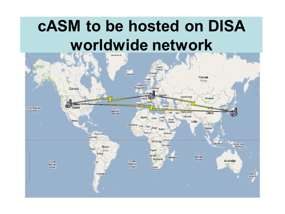 2009 DENVER cASM to be hosted on DISA worldwide network