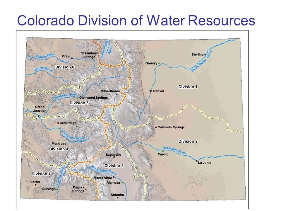 Colorado Division of Water Resources