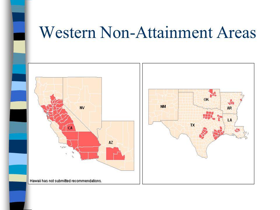Western Non-Attainment Areas