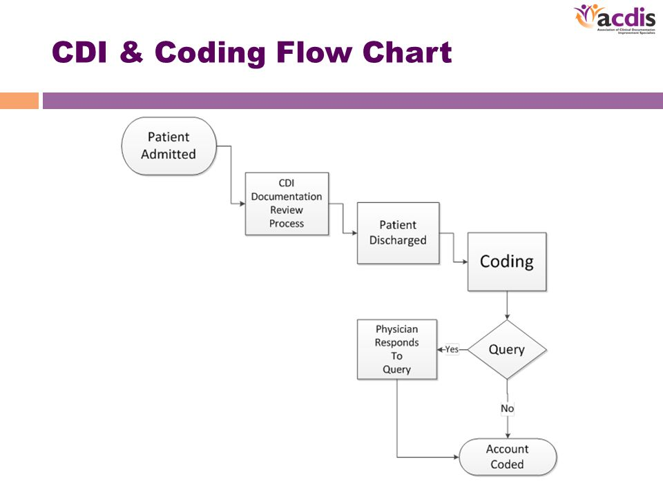 CDI & Coding Flow Chart