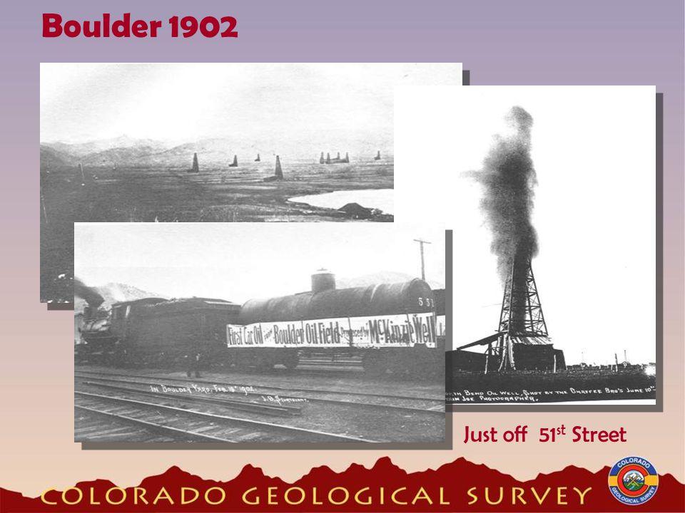 Just off 51 st Street Boulder 1902