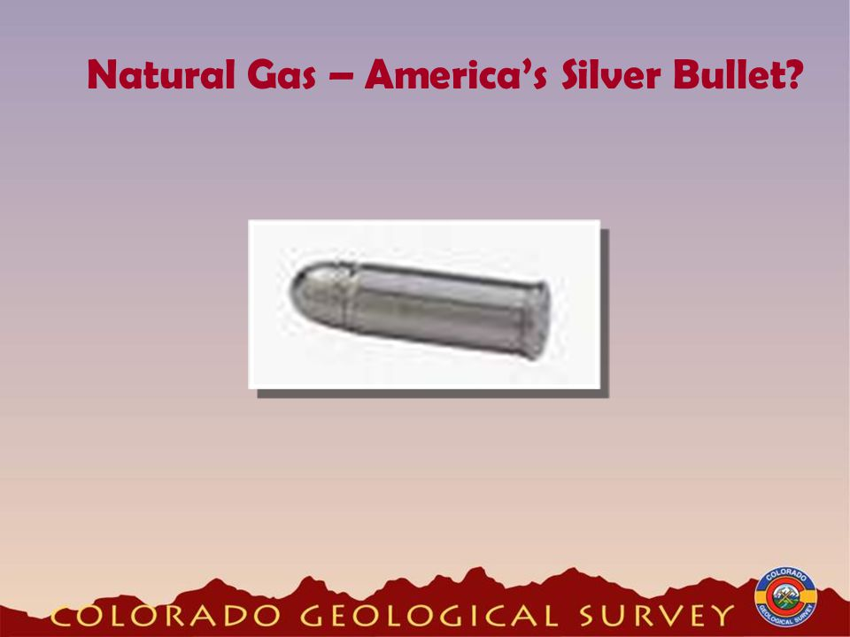 Natural Gas – America's Silver Bullet
