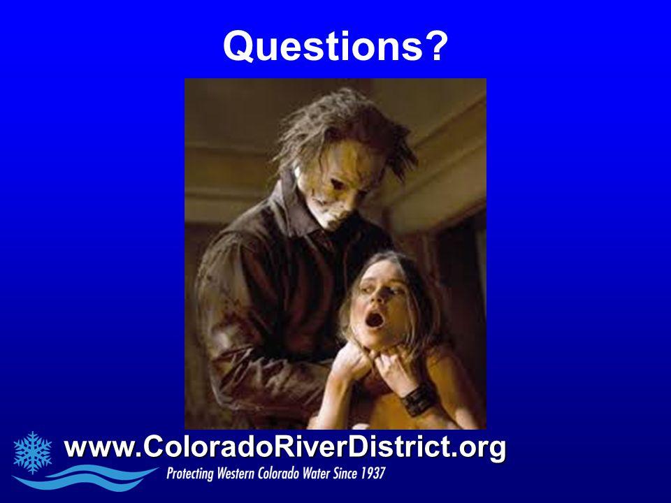 www.ColoradoRiverDistrict.org Questions