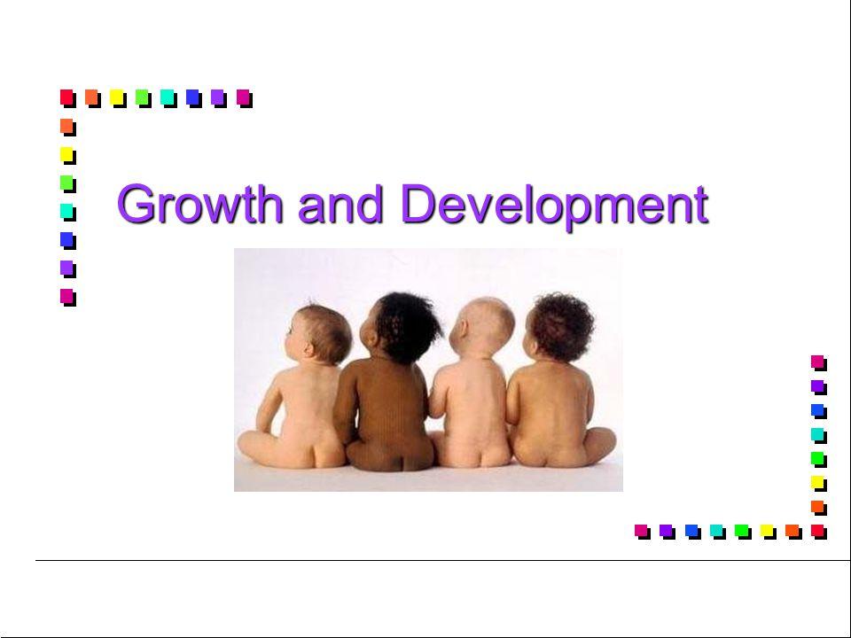 Developmental Milestones – School-age