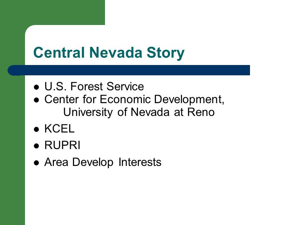 Central Nevada Story U.S.