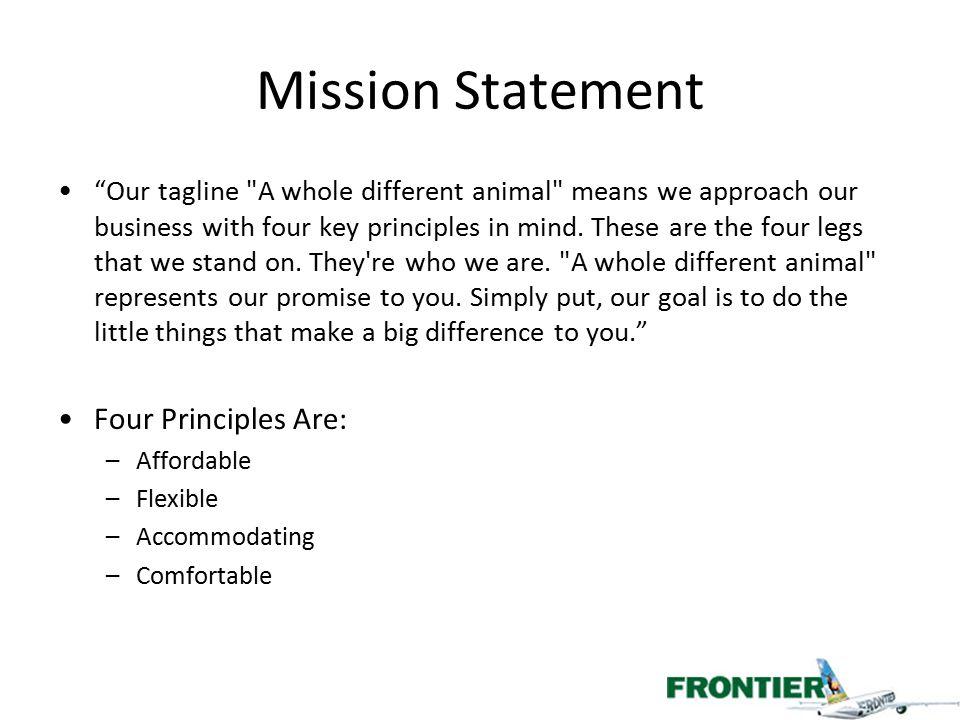 "Mission Statement ""Our tagline"