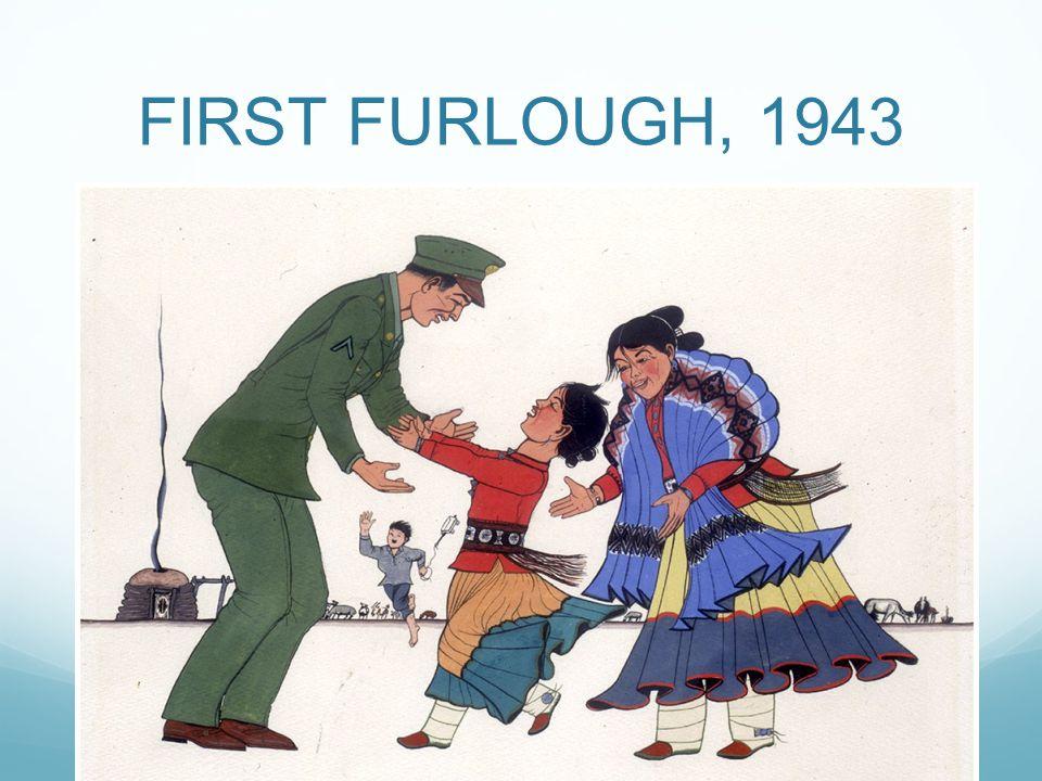 FIRST FURLOUGH, 1943