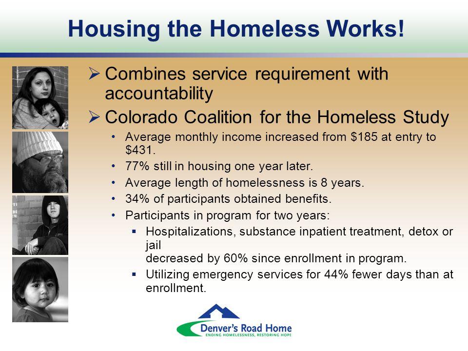 Housing the Homeless Works.