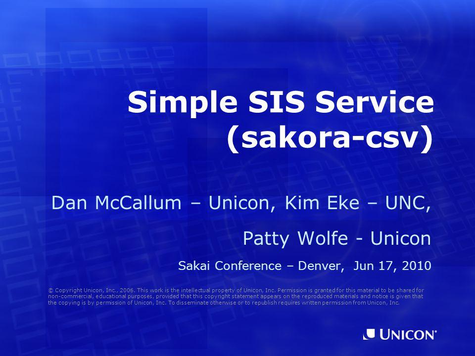 1.Concepts 2.sakora-csv at UNC 3.Usage 4.Gotchas 5.Other Options 6.File Formats