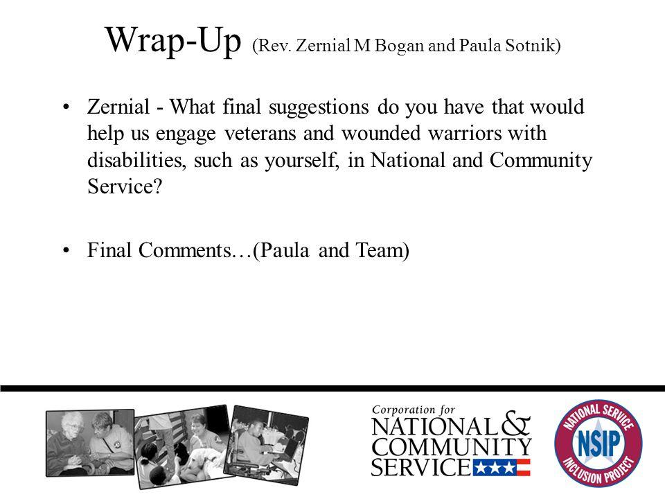 Wrap-Up (Rev.