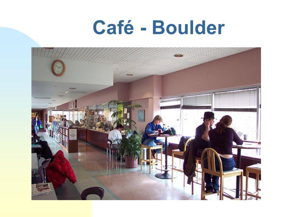 Café - Boulder