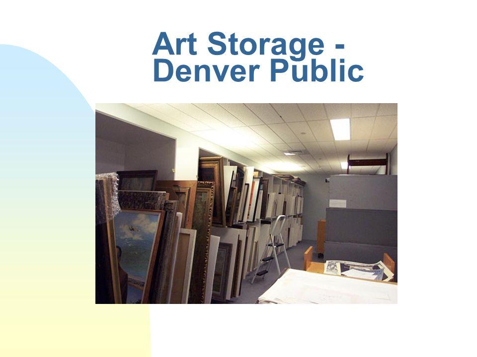 Art Storage - Denver Public