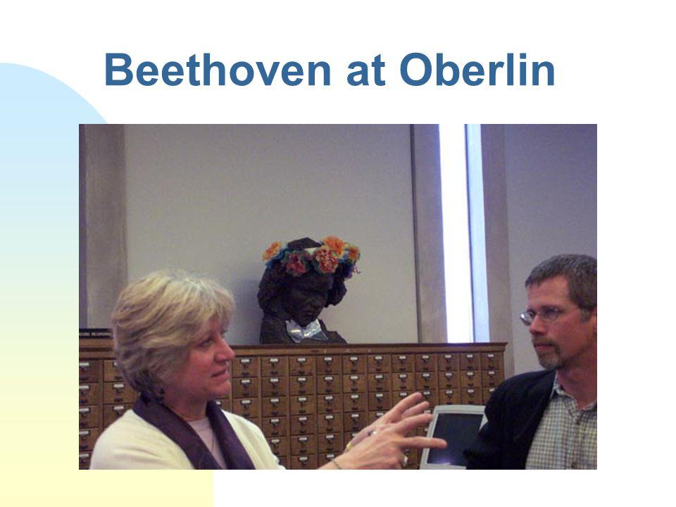 Beethoven at Oberlin