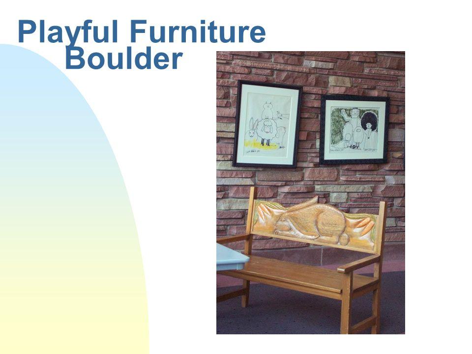 Playful Furniture Boulder
