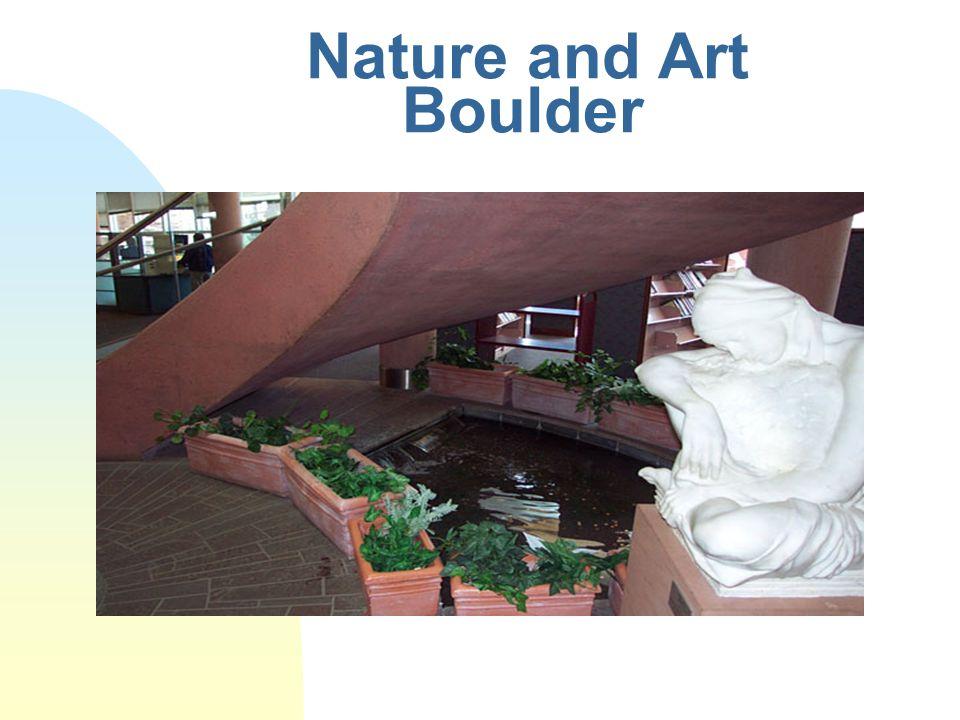 Nature and Art Boulder