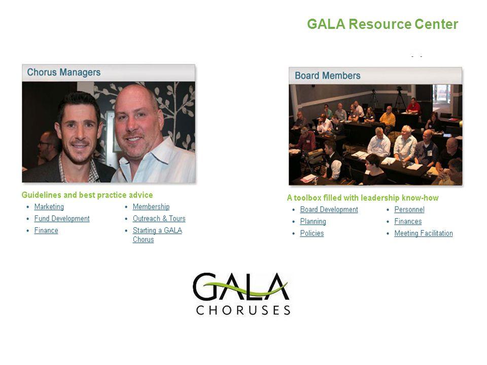 GALA Resource Center