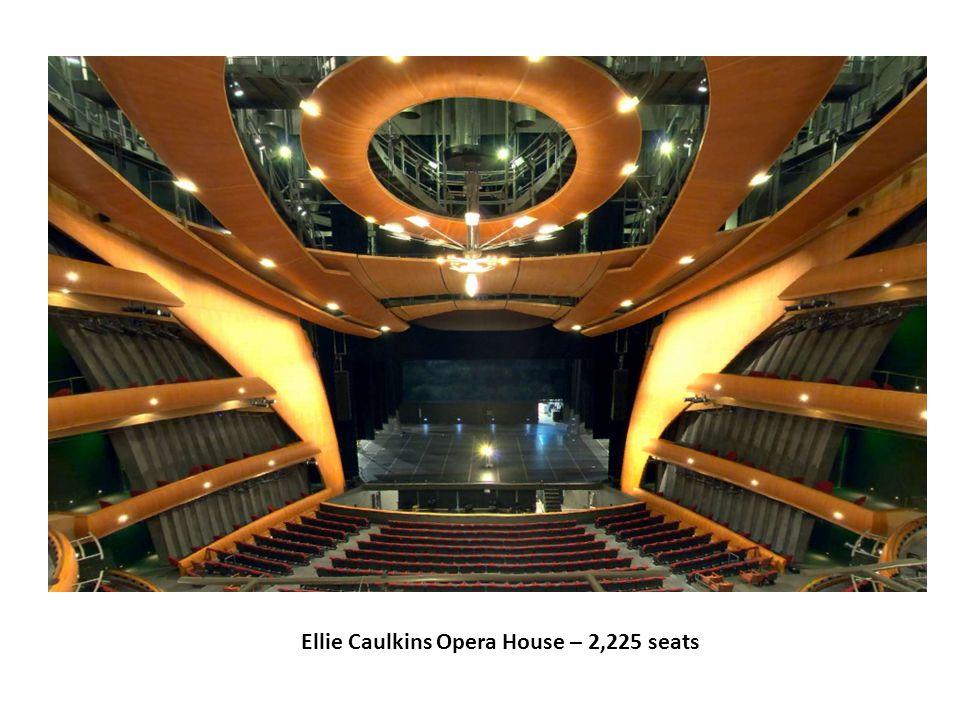 Ellie Caulkins Opera House – 2,225 seats