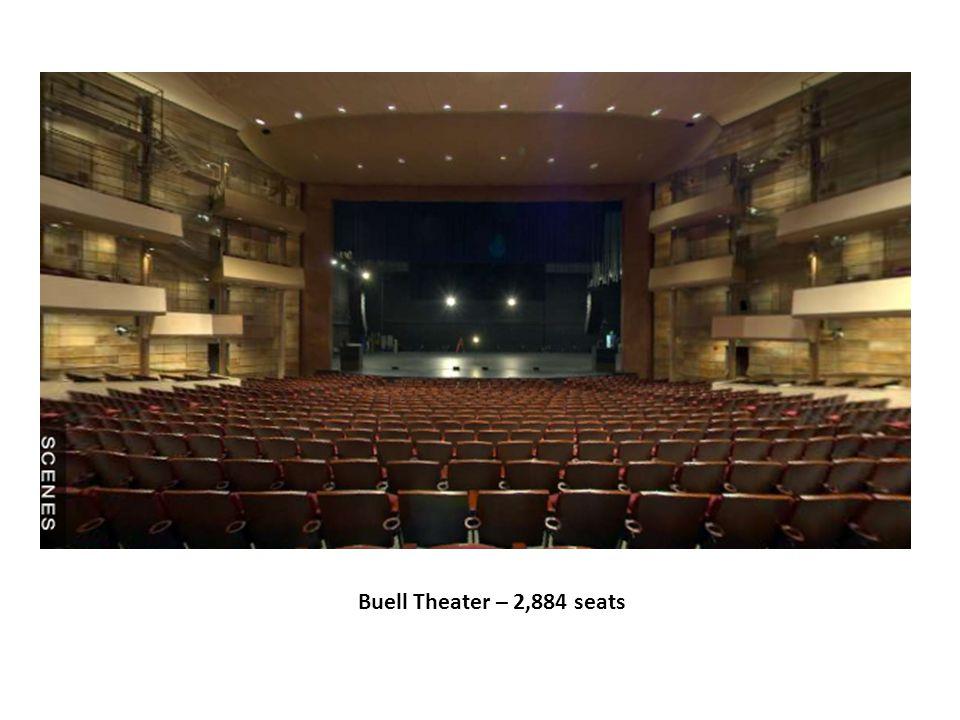 Buell Theater – 2,884 seats