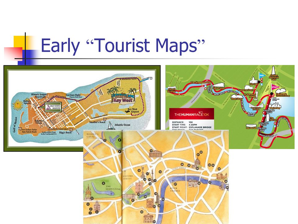 Early Tourist Maps