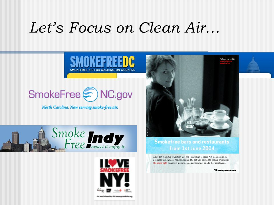 Let's Focus on Clean Air…
