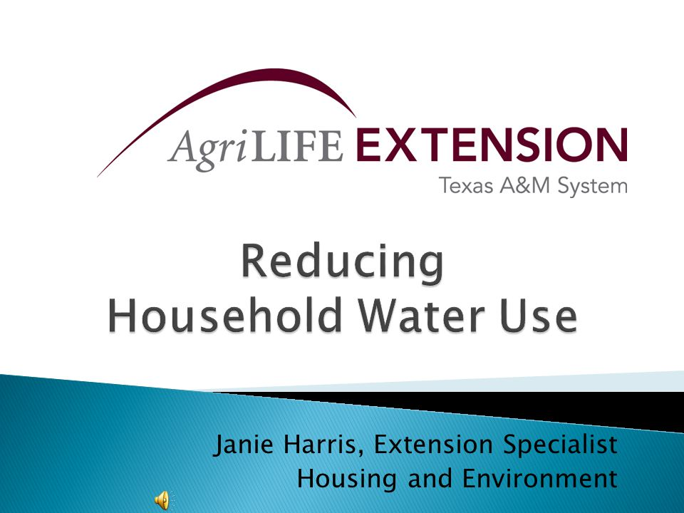 Janie Harris, Extension Specialist Housing and Environment