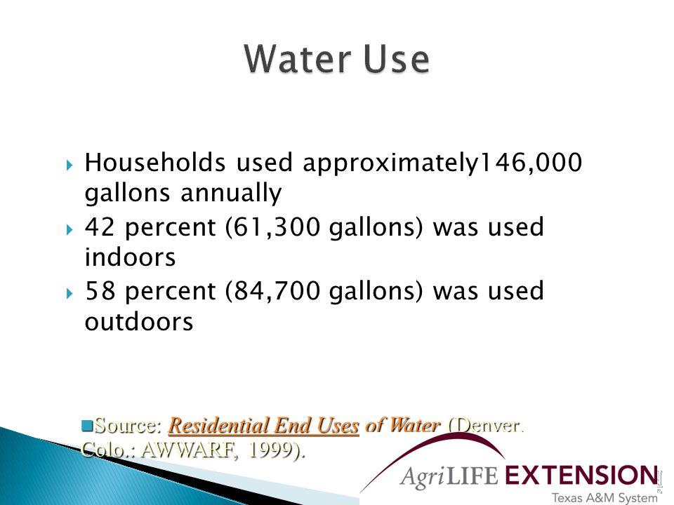  An average home will waste approximately 10,000 gallons of water per year running it down the drain waiting for hot water