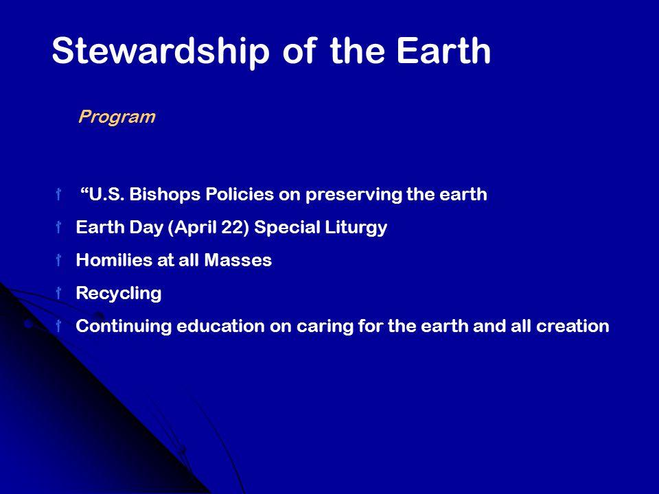 Stewardship of the Earth Program U.S.