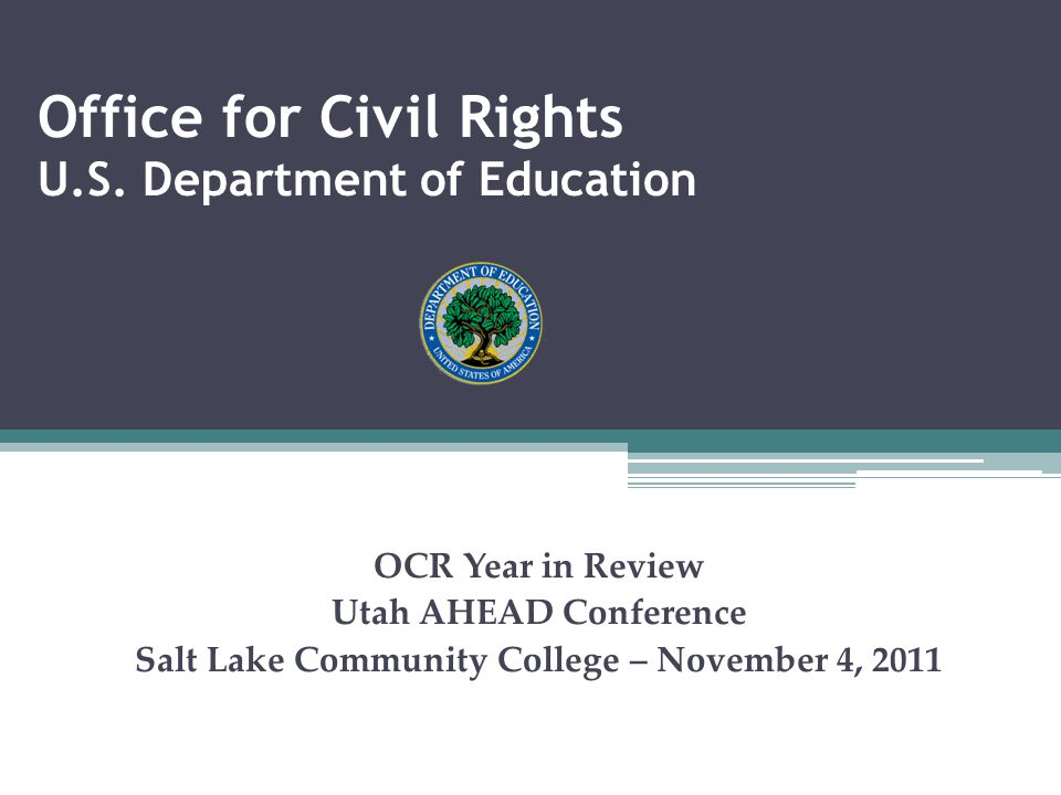 Office for Civil Rights U.S.