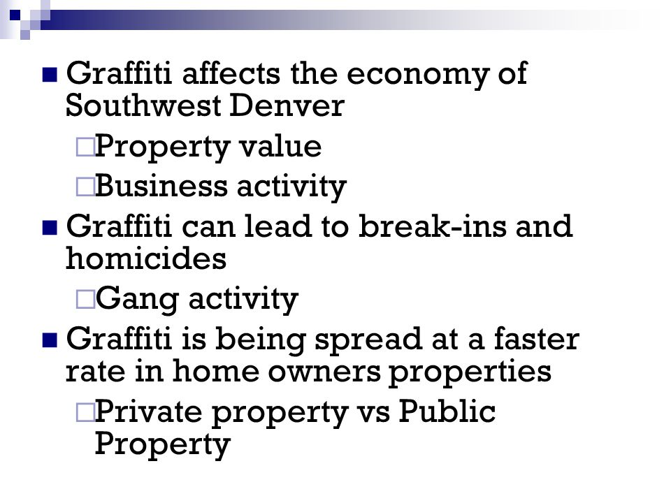 DPAG offers you one stop shopping with the Graffiti Hotline 720-865-STOP (7867) Call The HOTLINE To: Sign up for free graffiti removal assistance on your residential or business property.