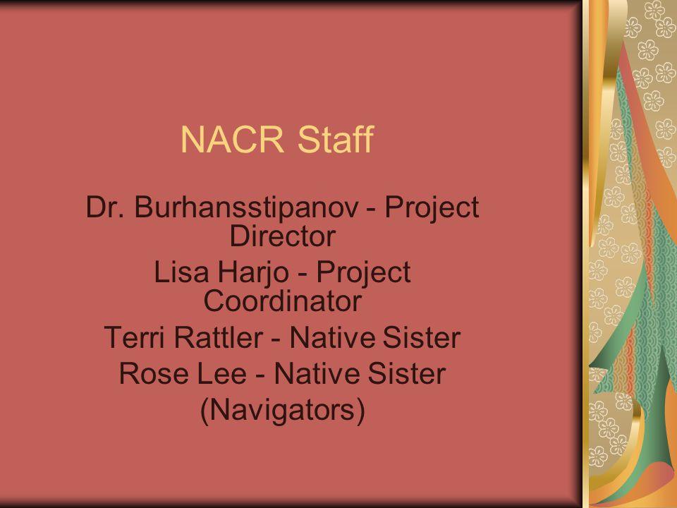 NACR Staff Dr.