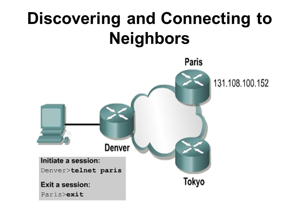 Discovering and Connecting to Neighbors
