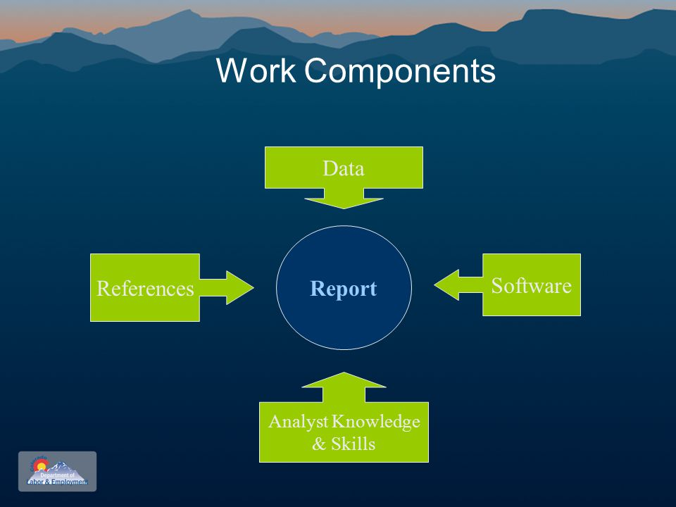 Work Components Report Data Software Analyst Knowledge & Skills References