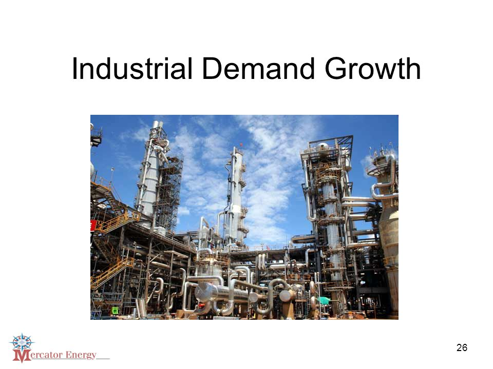 26 Industrial Demand Growth