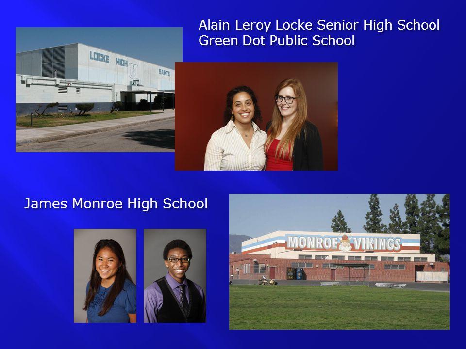 Alain Leroy Locke Senior High School Green Dot Public School James Monroe High School