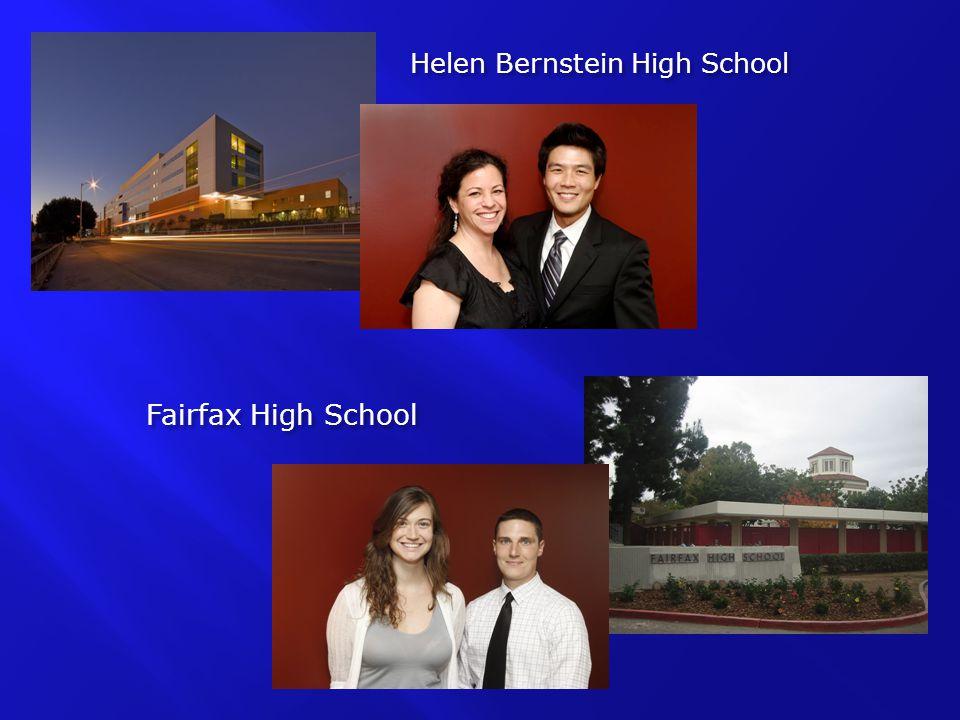 Helen Bernstein High School Fairfax High School
