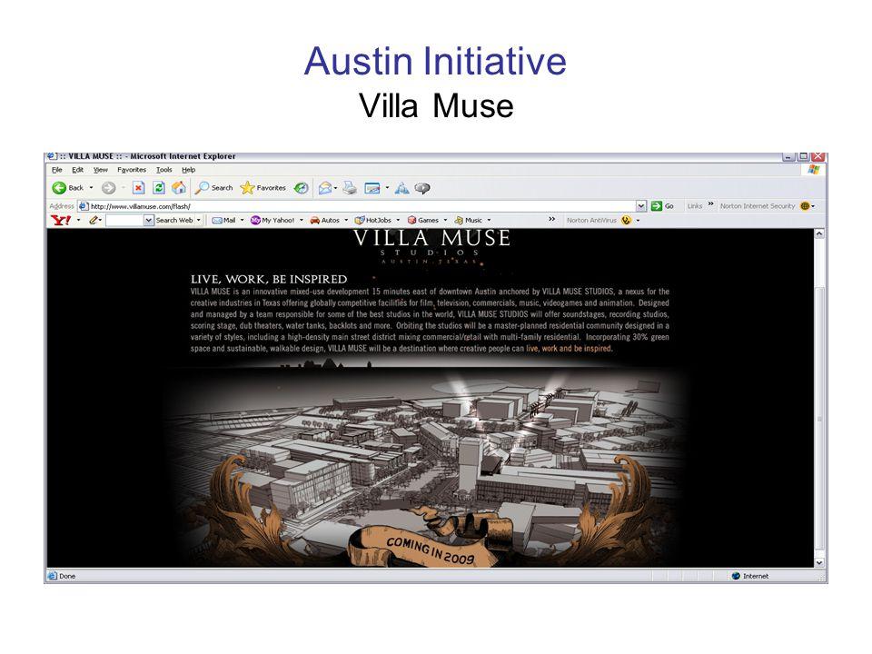 Austin Initiative Villa Muse