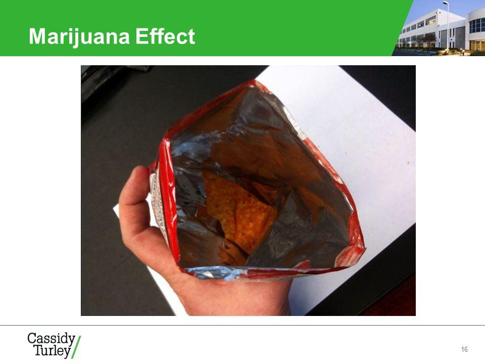 16 Marijuana Effect