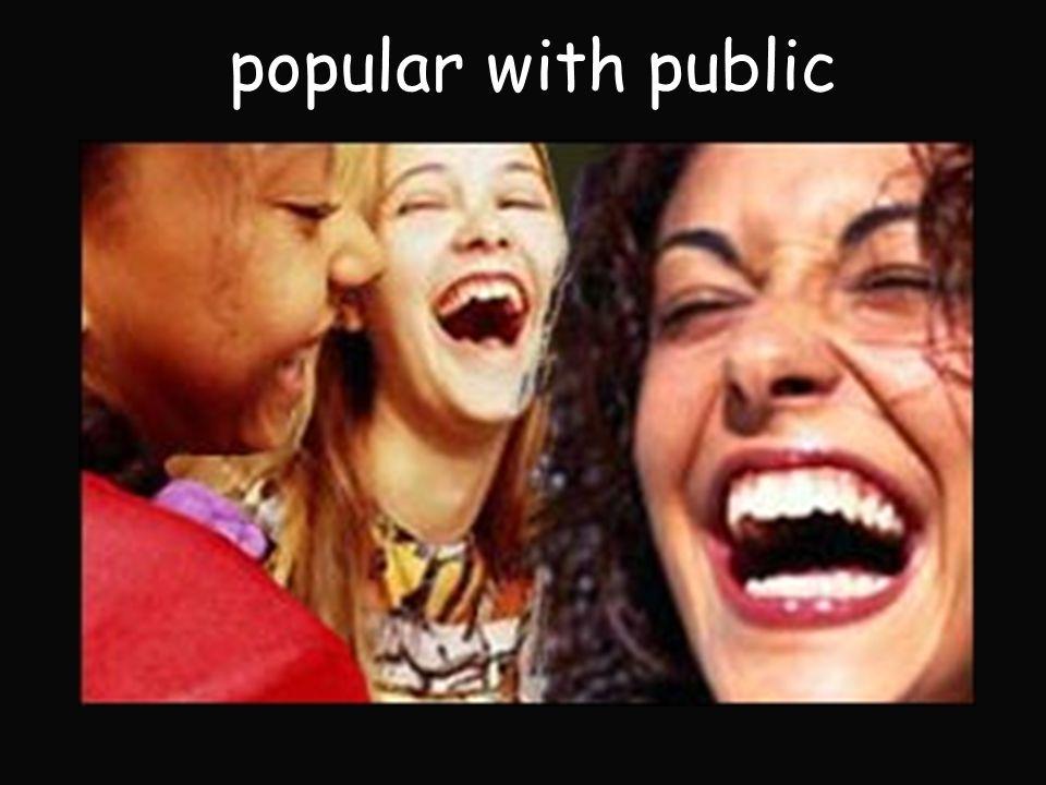 popular with public