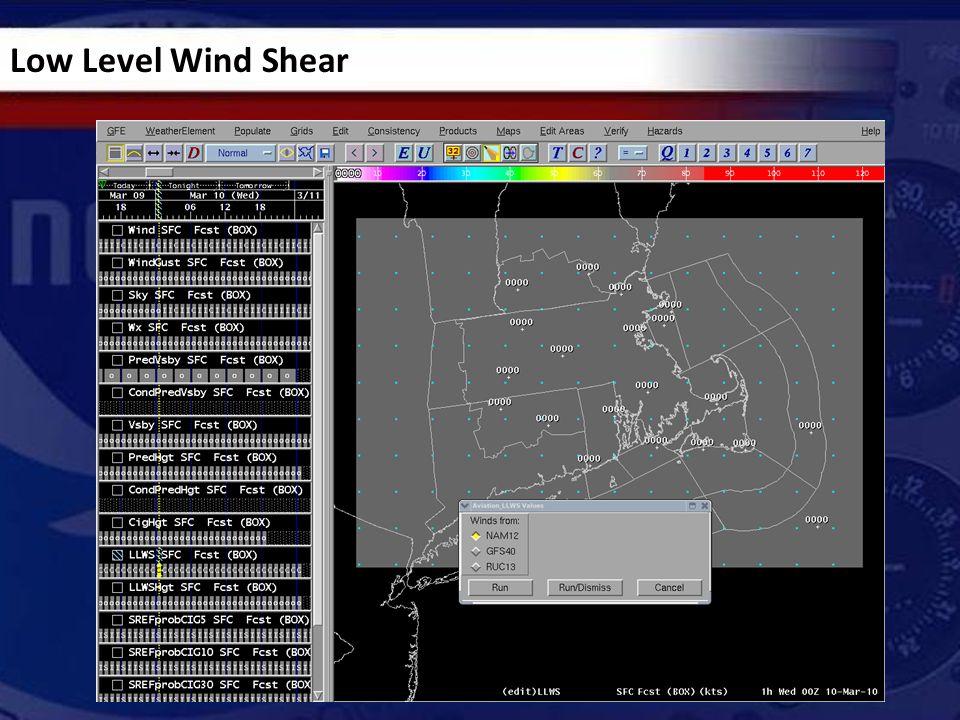 Low Level Wind Shear