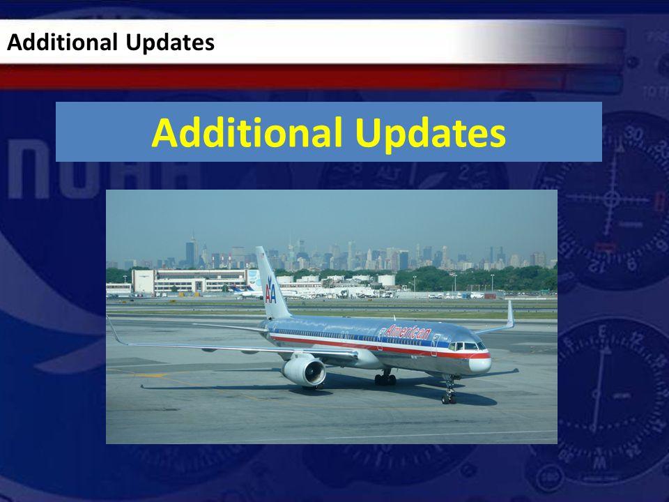 Additional Updates