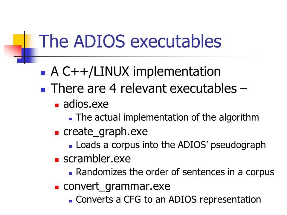 The Real Deal http://www.tau.ac.il/~zsolan/adios/algorithm.html