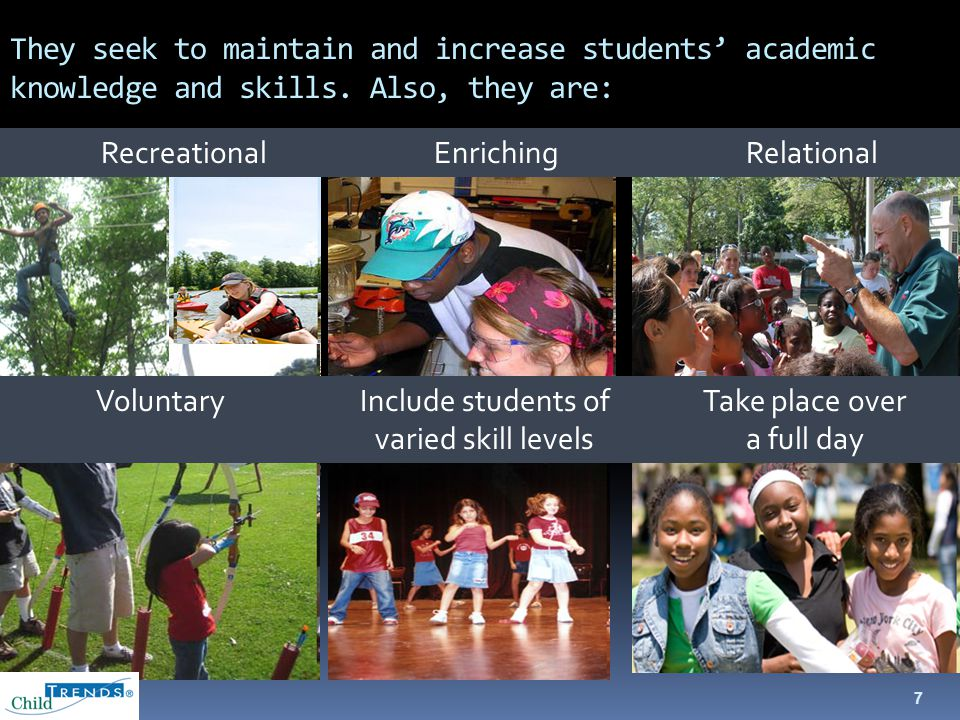 8 Summer Learning Programs: What Does the Evidence Look Like.