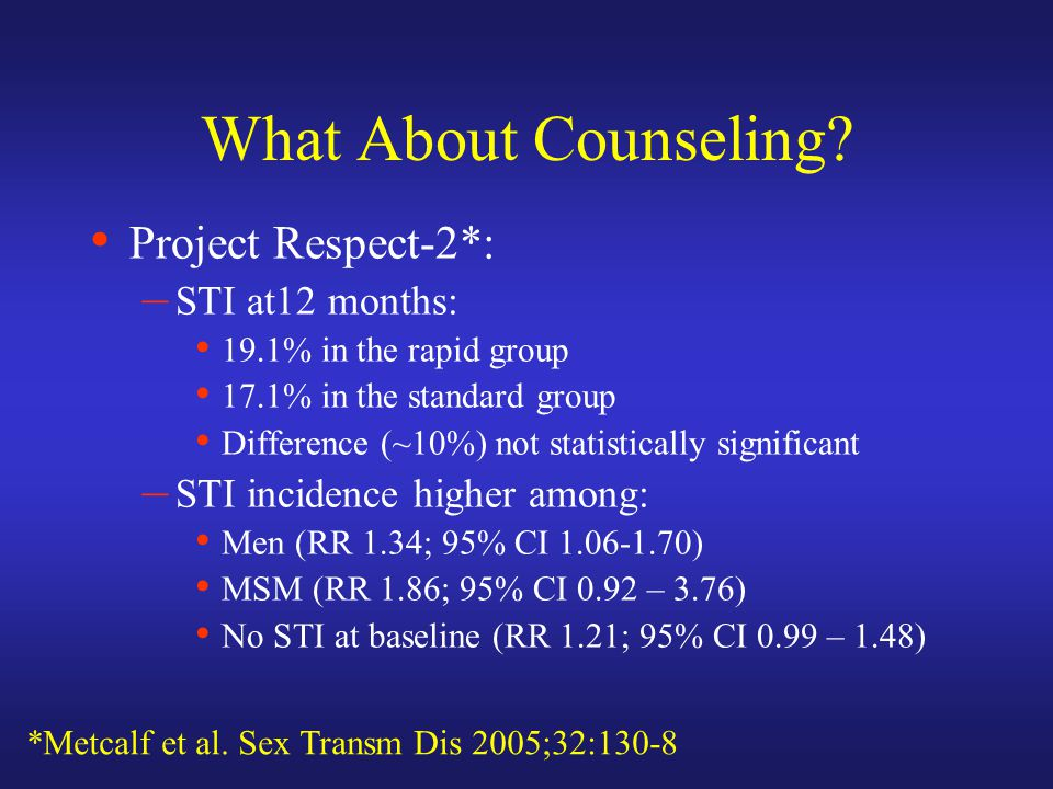 What About Counseling.